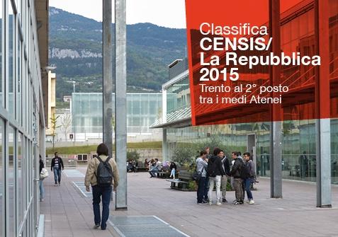 Classifica Censis/La Repubblica Università 2015