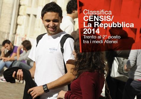 Classifica Censis/La Repubblica Università 2014